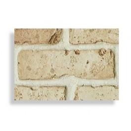 "Antico Faux Chicago Brick 28"" Sample - Tan - Light"