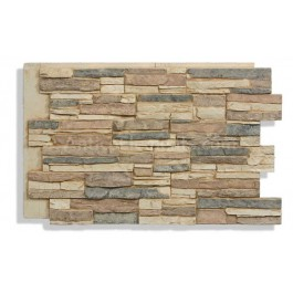 Laguna Faux Stacked Stone - Cappuccino - Close
