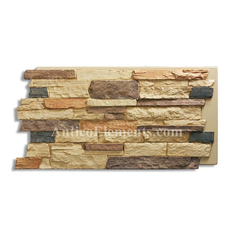 Comiso panel faux stone sand