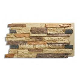 Comiso Panel - Faux Stone - Sand