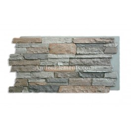 Comiso Panel for Rock Wall - Gray
