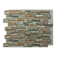 Alpi Panel Stone Wall Gray 36 x 48