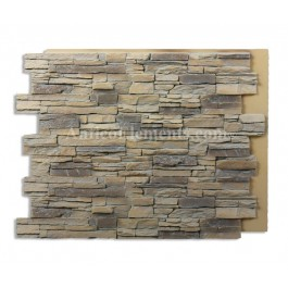 Alpi Panel - Fake Stone - Almond - 36 x 48