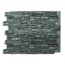 Alpi Panel - Charcoal - 36 x 48