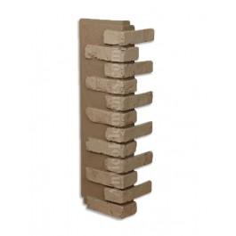 Antico Faux Brick Veneer Corner - Gray