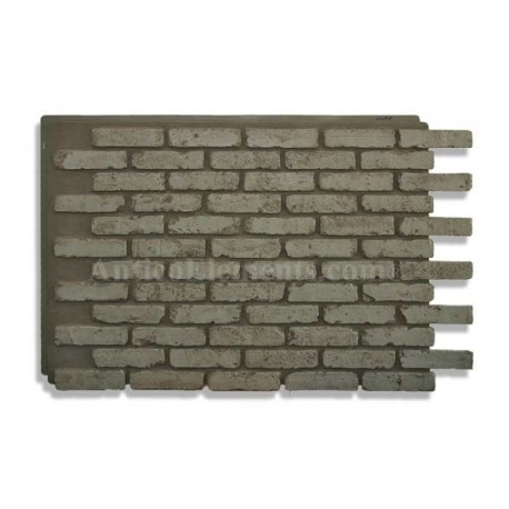 Panels of imitation brick