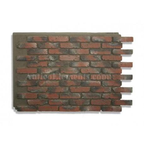 Antico Panel - Chicago Brick Red - Front