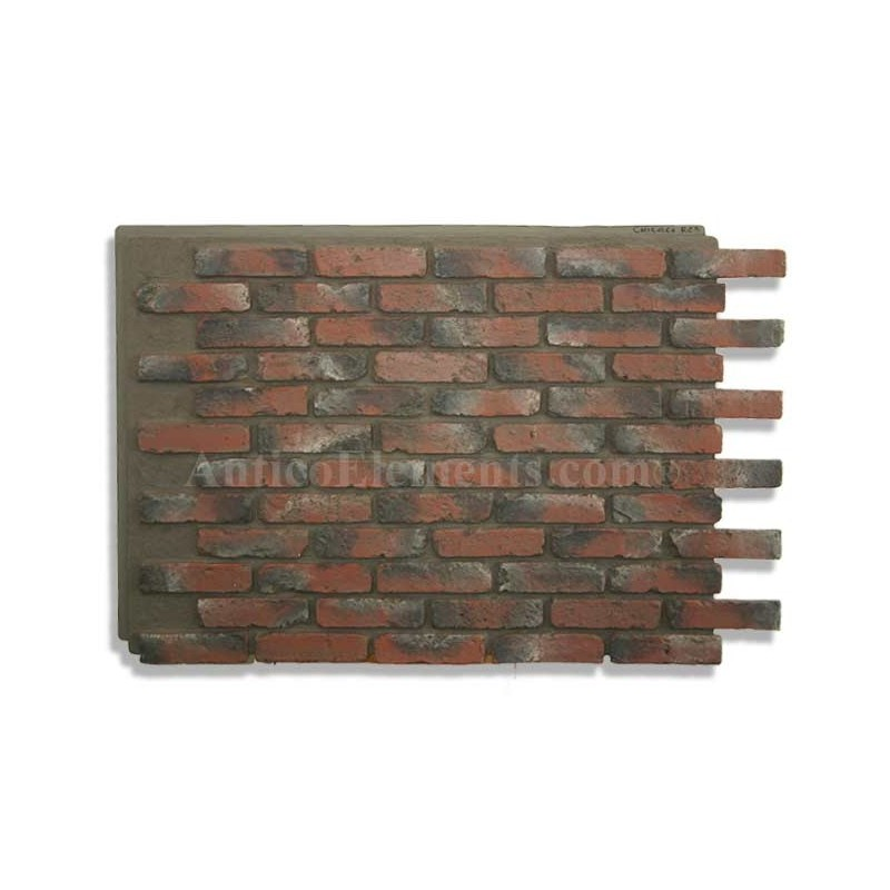 Reclaimed wood paneling chicago reclaimed wood whole foods chicago poplar bark shingles - Red brick wall panel ...