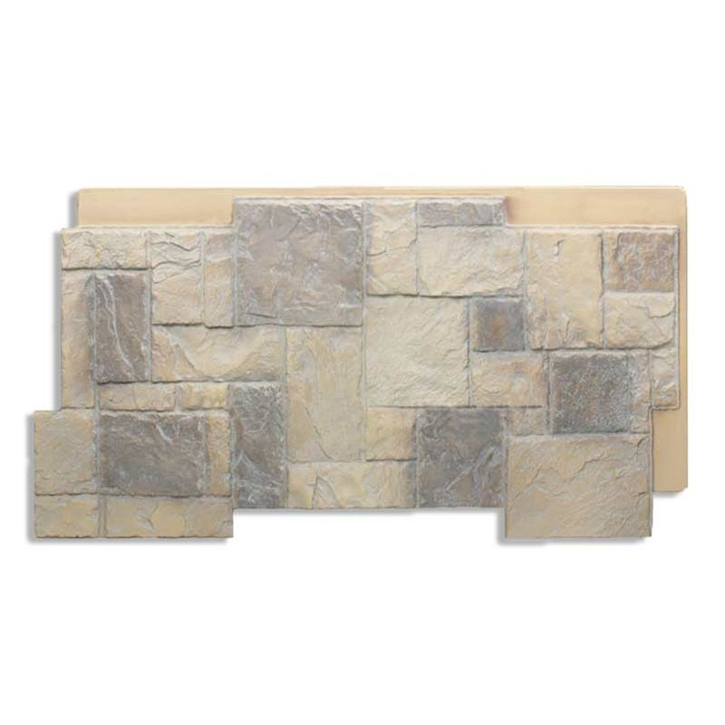 Antico Elements Castle Stone Fireplace Almond