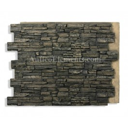 Alpi Panel Stone Veneer Noir 36 x 48