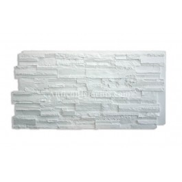 Romana Faux Stone Panels - White