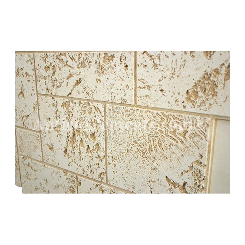 Antico Elements Coral Stone Panels Belached