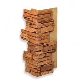 "Interlocking Corner 24"" Terracotta"