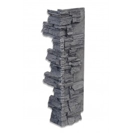 "Interlocking Corner 36"" Charcoal"