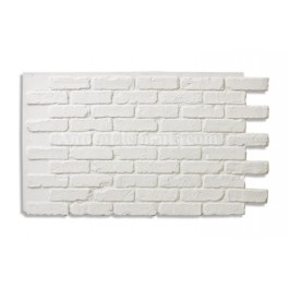 "Antico Faux Reclaimed Brick 28"" - White"