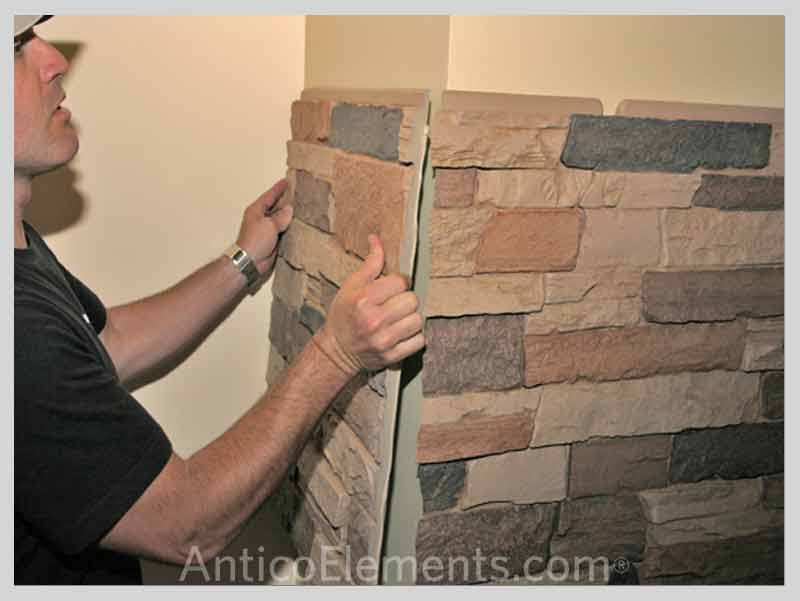 Great Tips On Installing Faux Stone Panels