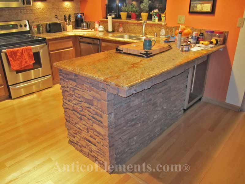 Stone Below counter