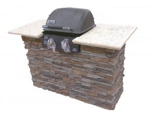 Faux Stone BBQ