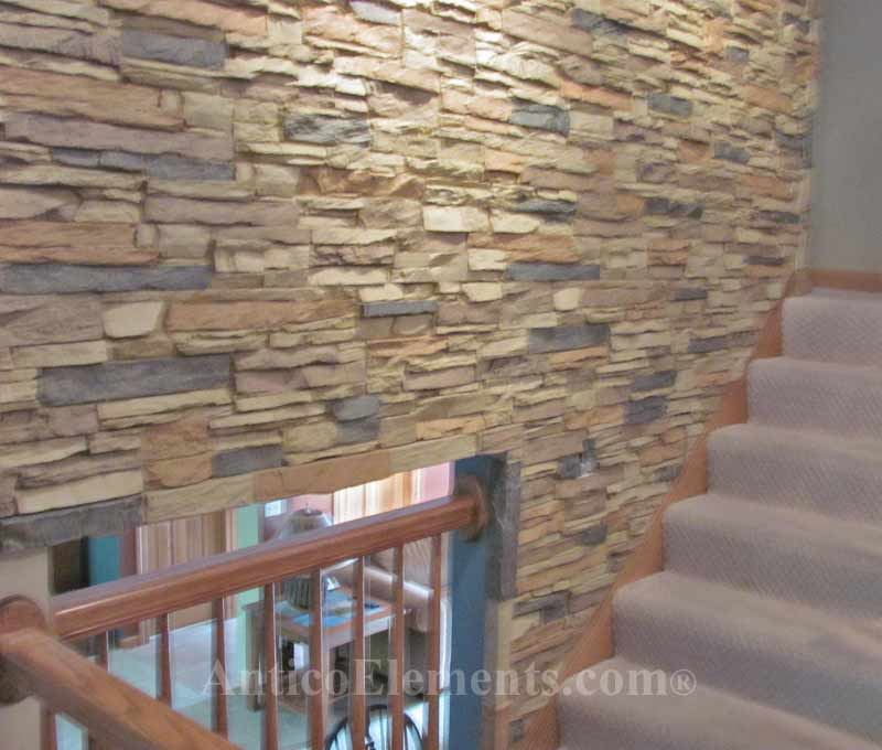 Stone Wall Panels : Interlocking stone panels