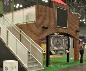 Brick Display Booth At Trade Shows