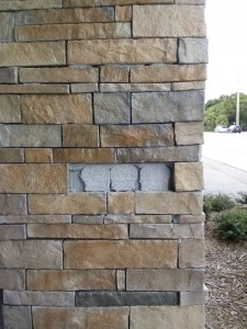 Broken Stone column