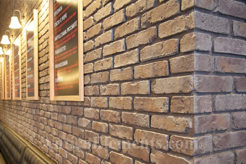Reclaimed Brick Look