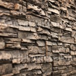 Antico Elements Faux Stone Panel noir