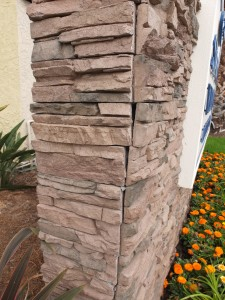 Low quality stone panels