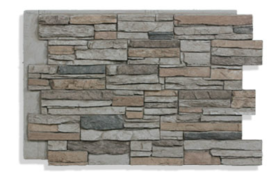 "36"" Faux Stone Panels In Beach Color"