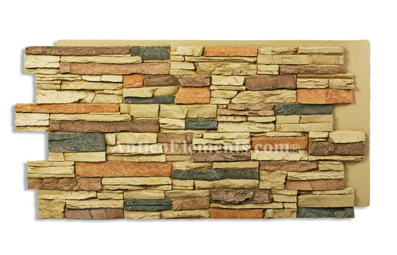 Romana Faux Ledge Stone - Sand Color