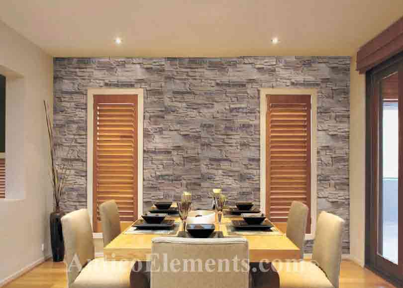 Fireplace Stone Design. Interior ...