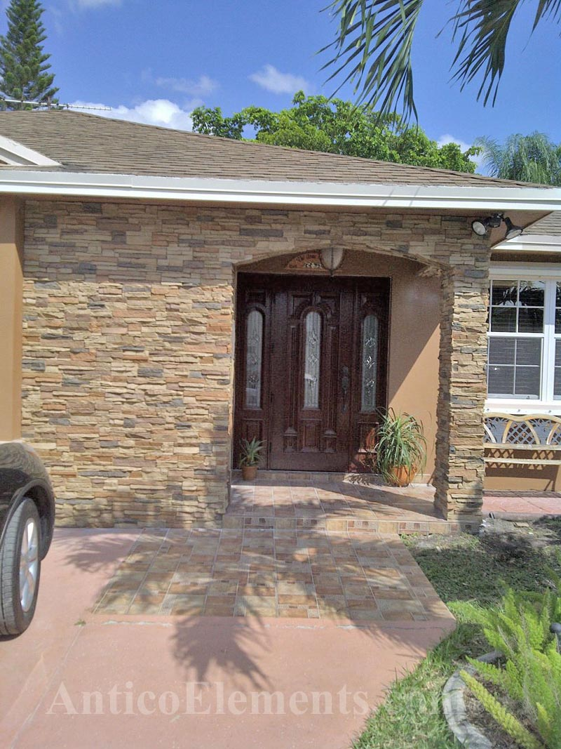 Faux Stone Panels In Miami