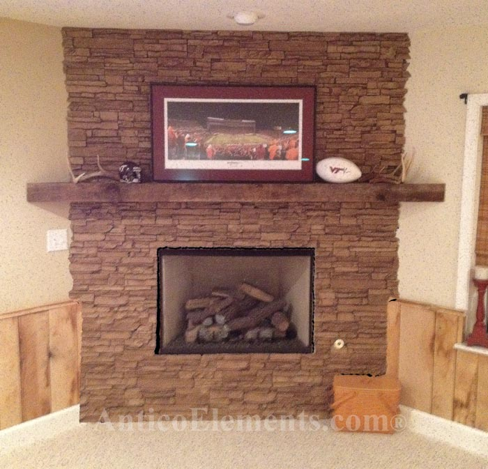 How to use stacked stone faux stone panels for any type of remodeling.