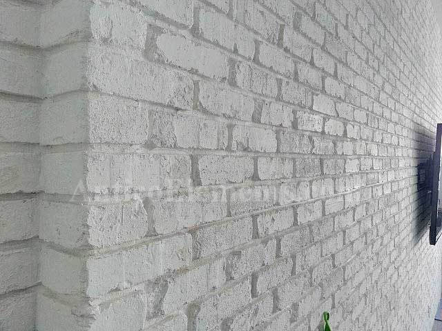 Antico Brick Panels White