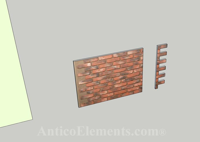 Faux brick for any home improvement project for Faux brick edging