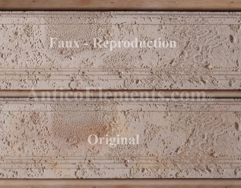 Faux VS Original Stone