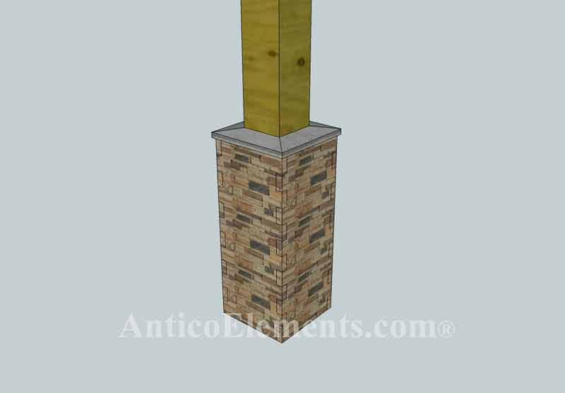 Faux Stone Column And Post Wrap Installation Manual
