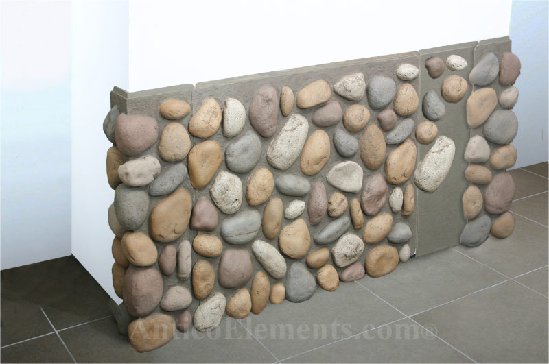 Install The Individual Stones