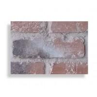"Faux Reclaimed 28"" Panel Brick Sample - Chicago Red - With Rebate - READ NOTES BELOW"