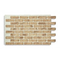 "Faux Chicago Brick 28"" - Tan - READ NOTES BELOW"