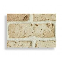 "Antico Faux Chicago Brick 28"" Sample - Tan - With Rebate - READ NOTES BELOW"