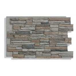 Laguna Faux Stacked Stone - Beach - Front