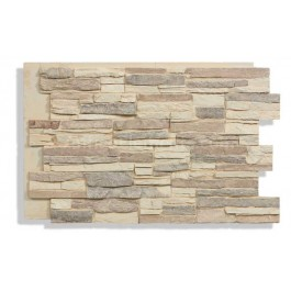 "Laguna 24"" x 36"" Faux Stacked Panel - Desert - Front"