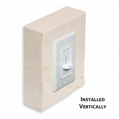 Outlet & Switch Trim - Desert - Front