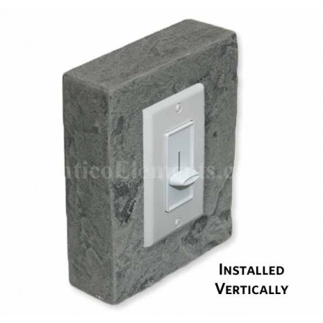 Outlet & Switch Trim - Graphite - Front
