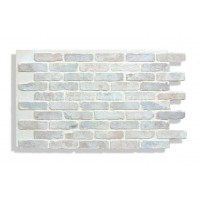 "Faux Reclaimed Brick 28"" - Cotton"