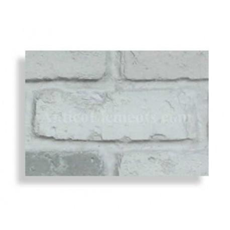 "Faux Reclaimed 28"" Panel Brick Sample - Storm"