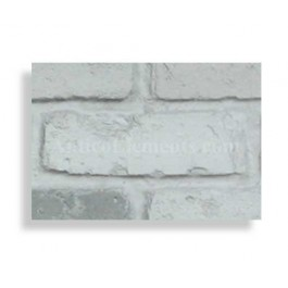 "Faux Reclaimed 28"" Panel Brick Sample - Storm"