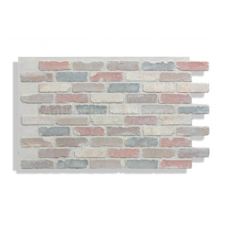 "Antico Faux Chicago Brick 28"" - Retro - Front"
