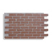 "Faux Reclaimed Brick 28"" - Red - READ NOTES BELOW"
